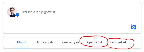 bejegyzések Google Cégemben