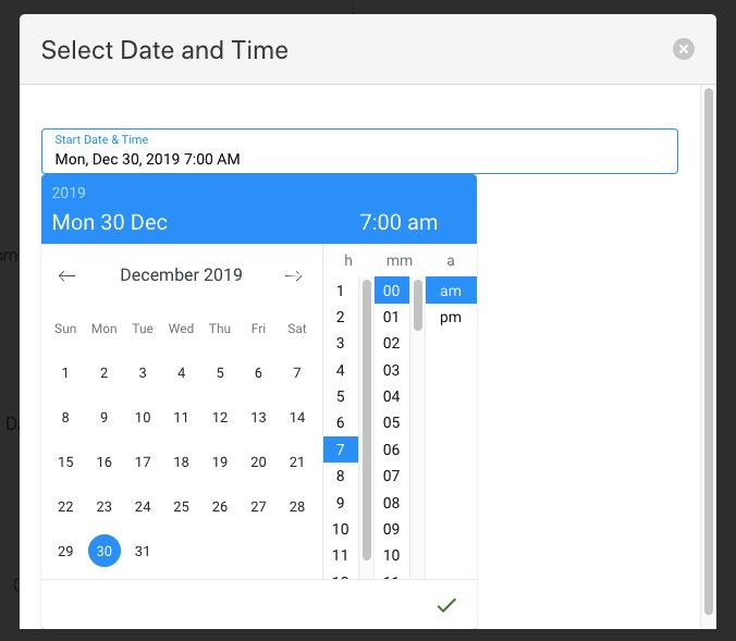 dátum és idő beállítása oneup