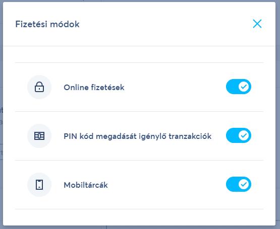 wise virtuális bankkártya fizetési módok beállítása